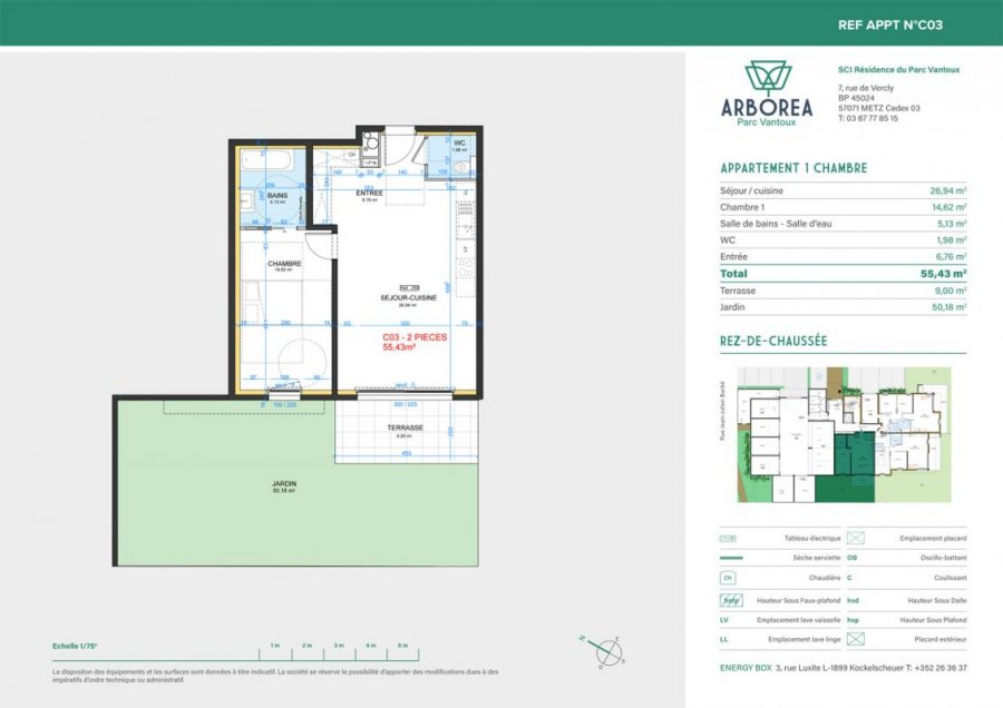 acheter appartement 2 pièces 55 m² metz photo 4