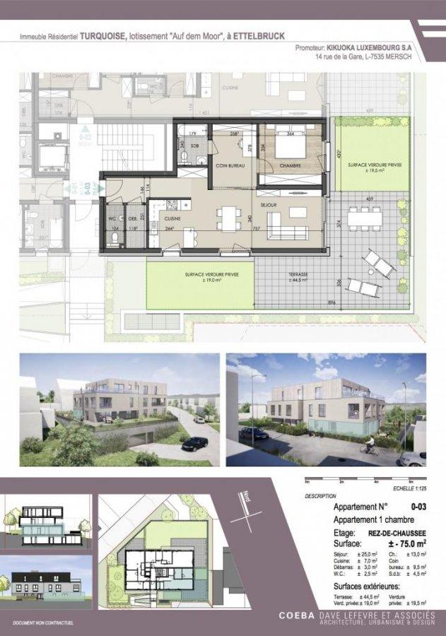 acheter appartement 1 chambre 75 m² ettelbruck photo 4