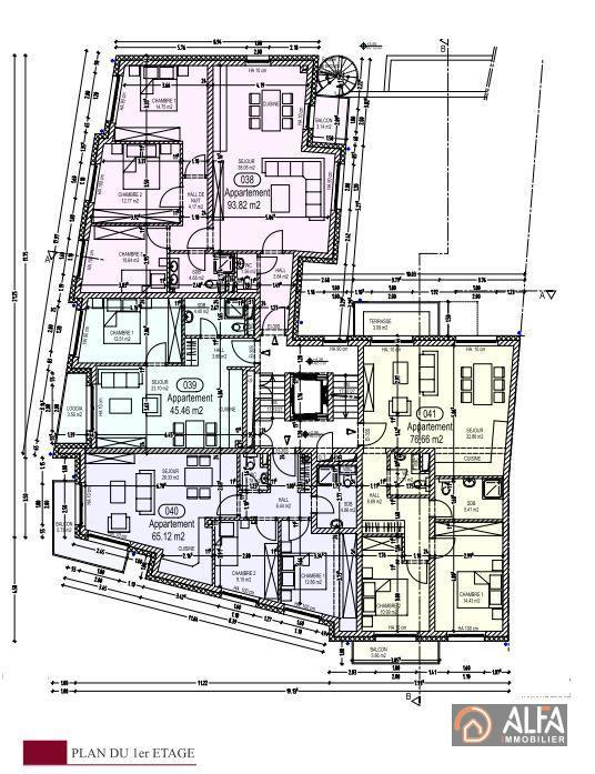 acheter appartement 2 chambres 65 m² rodange photo 2
