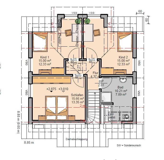 acheter maison 5 pièces 137 m² trier photo 5