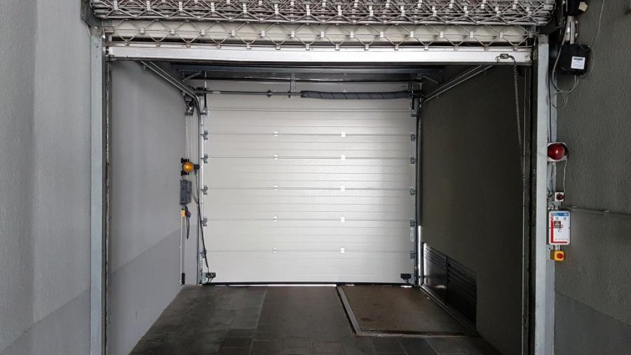 Garage fermé