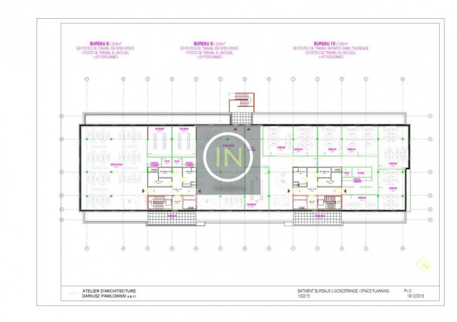 louer bureau 0 chambre 614 m² gonderange photo 7