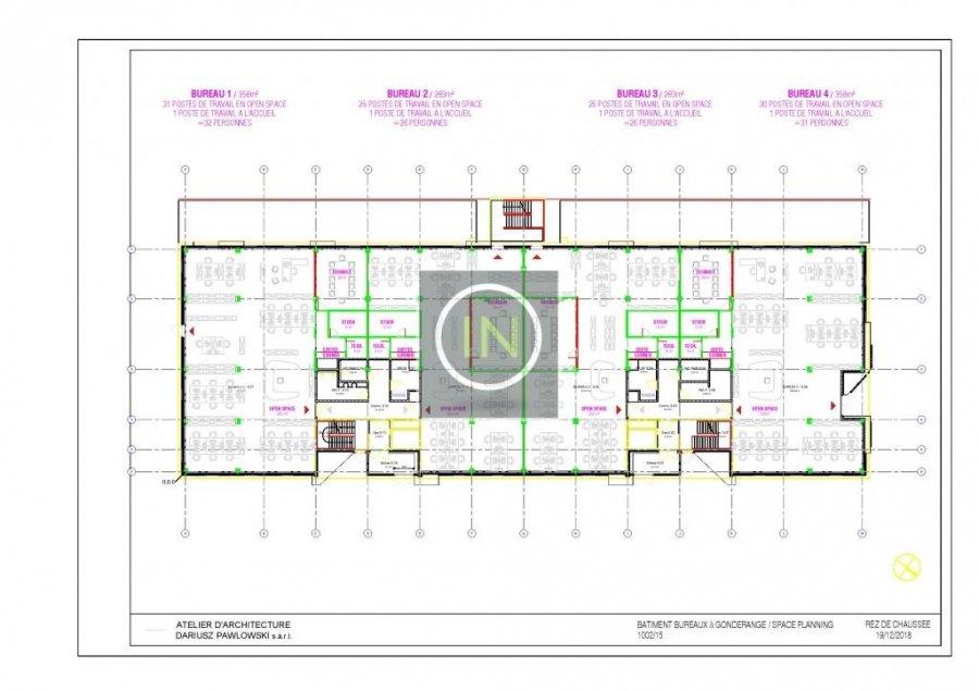 louer bureau 0 chambre 614 m² gonderange photo 5