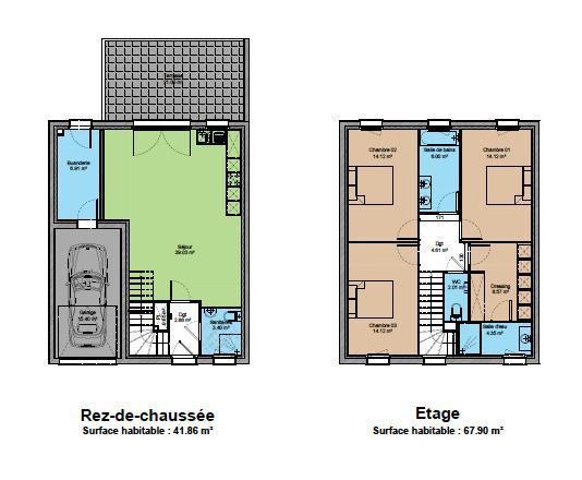 acheter maison 5 pièces 114 m² châtel-saint-germain photo 3