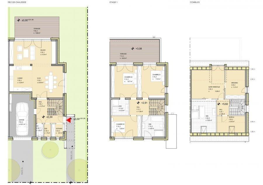 acheter maison jumelée 4 chambres 205.59 m² niederanven photo 4