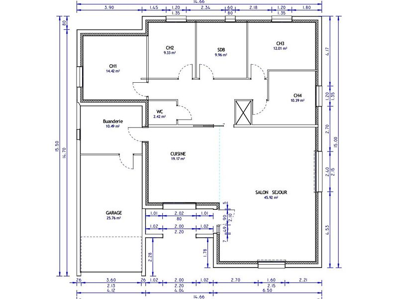 acheter maison 6 pièces 160 m² verdun photo 2