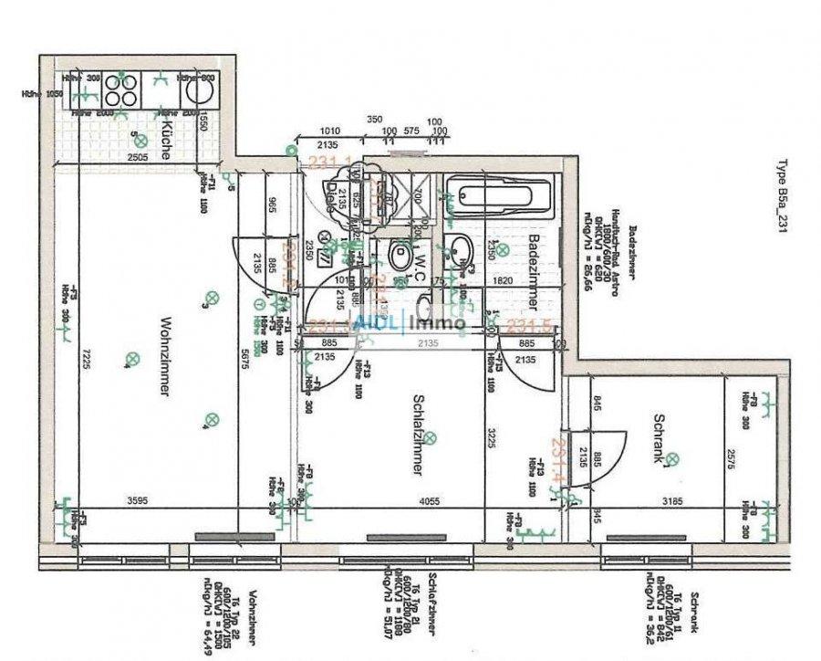 acheter appartement 2 chambres 56 m² belval photo 1