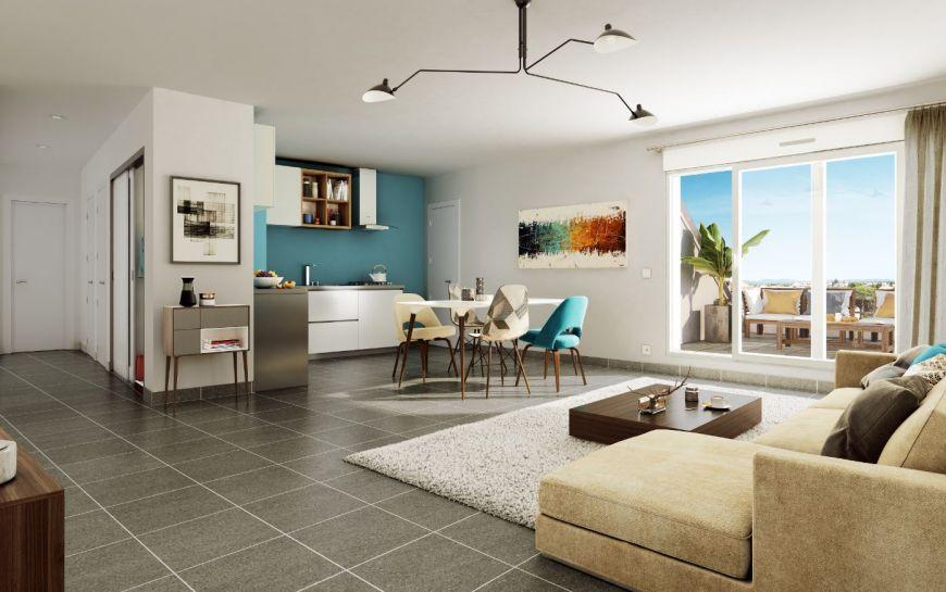 acheter appartement 3 pièces 61.2 m² metz photo 2