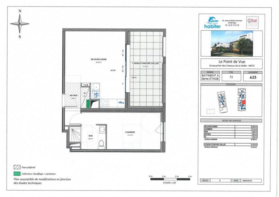 acheter appartement 2 pièces 44 m² metz photo 1