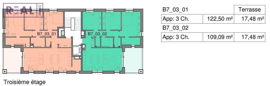 penthouse for buy 3 bedrooms 122.5 m² bertrange photo 2