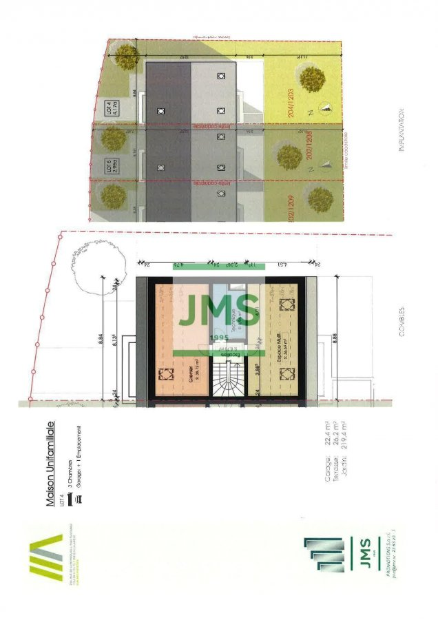 acheter maison individuelle 3 chambres 196.39 m² schwebach photo 2