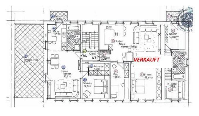 acheter appartement 3 pièces 96 m² saarlouis photo 3