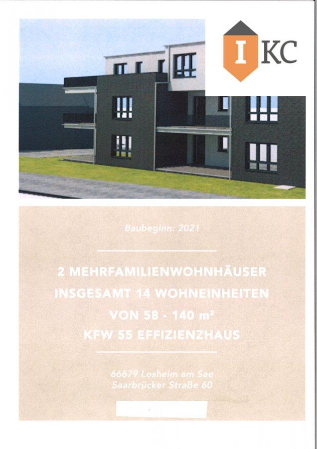 wohnung kaufen 2 zimmer 75.96 m² losheim foto 2