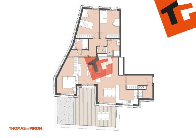 wohnung kaufen 3 schlafzimmer 112.07 m² schifflange foto 1