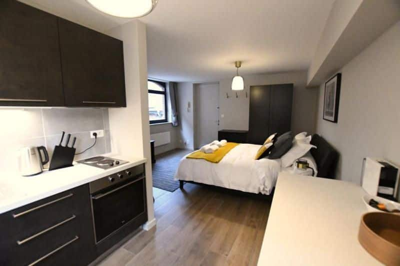 apartment for rent 0 room 32 m² mons photo 3