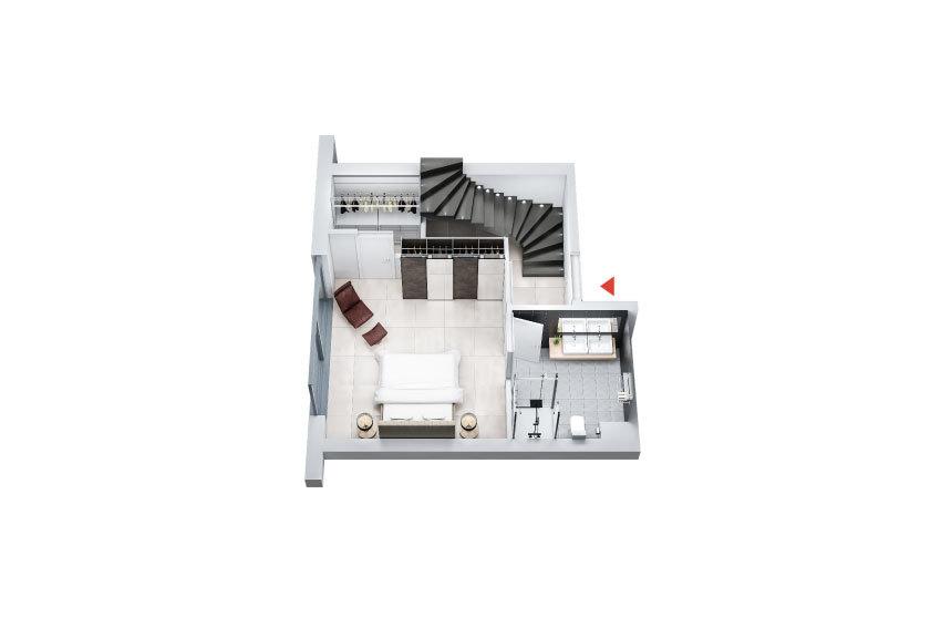 acheter penthouse 3 chambres 133.54 m² colmar-berg photo 3