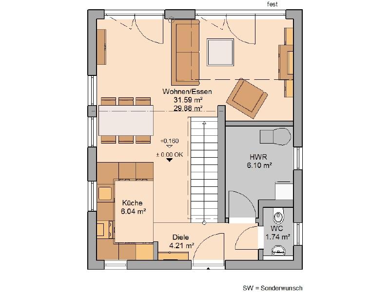 haus kaufen 2 zimmer 87 m² freudenburg foto 3