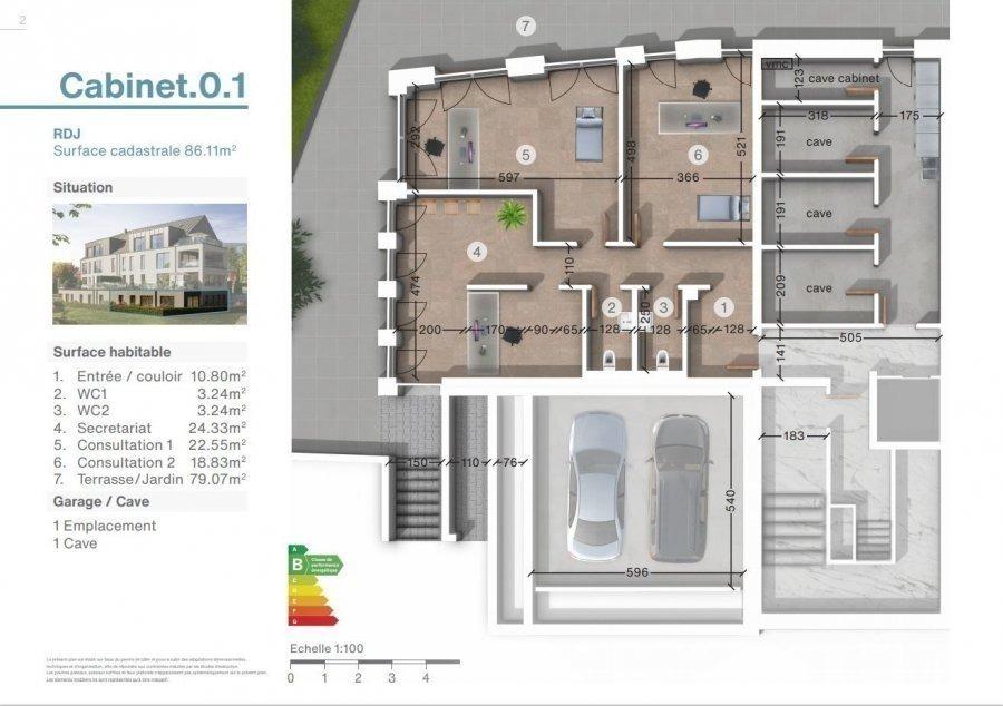 acheter bureau 0 chambre 86 m² luxembourg photo 2