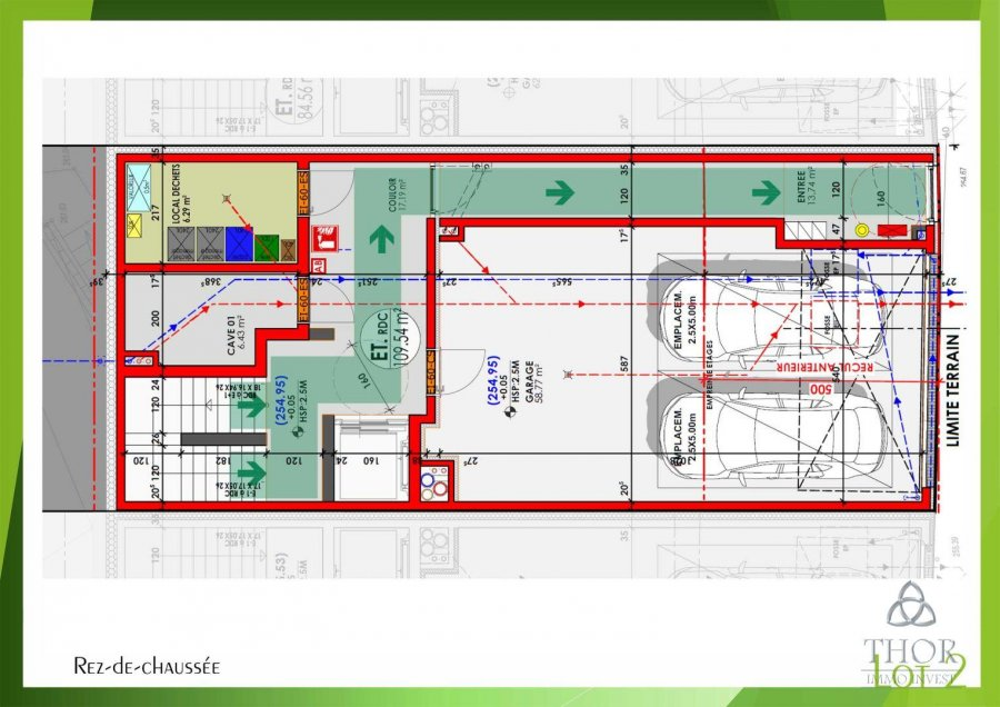 acheter appartement 2 chambres 114.16 m² luxembourg photo 4