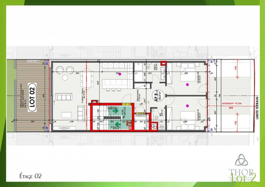 acheter appartement 2 chambres 114.16 m² luxembourg photo 5