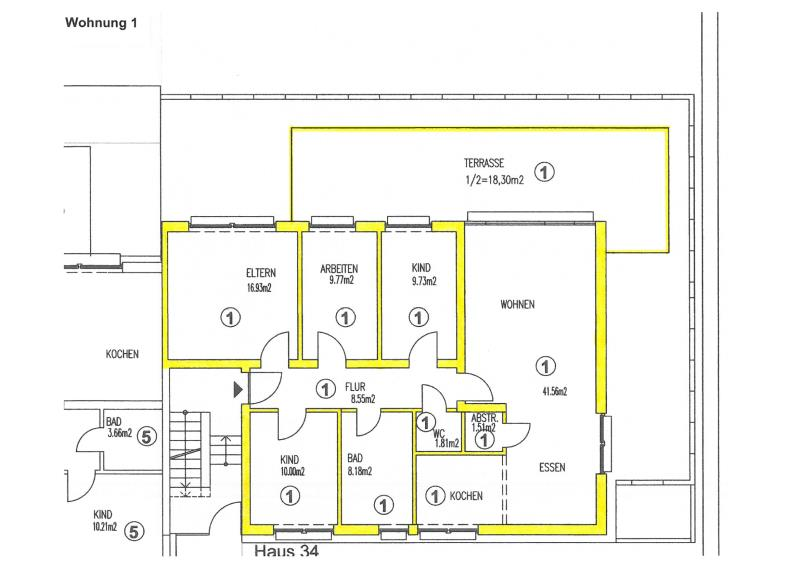 apartment for buy 5 rooms 125.8 m² trier photo 5