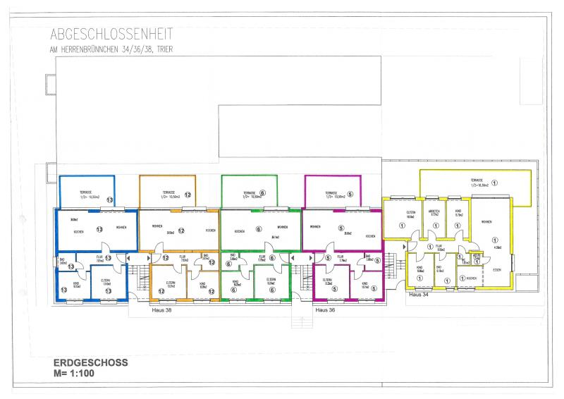 apartment for buy 5 rooms 125.8 m² trier photo 3