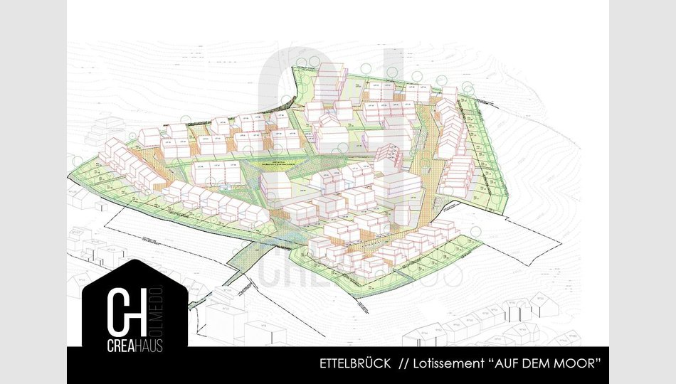 Lotissement à vendre à Ettelbruck (LU) - Réf. 6643249