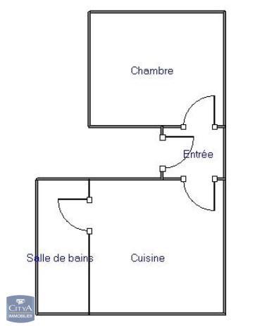 louer appartement 1 pièce 25 m² nancy photo 2