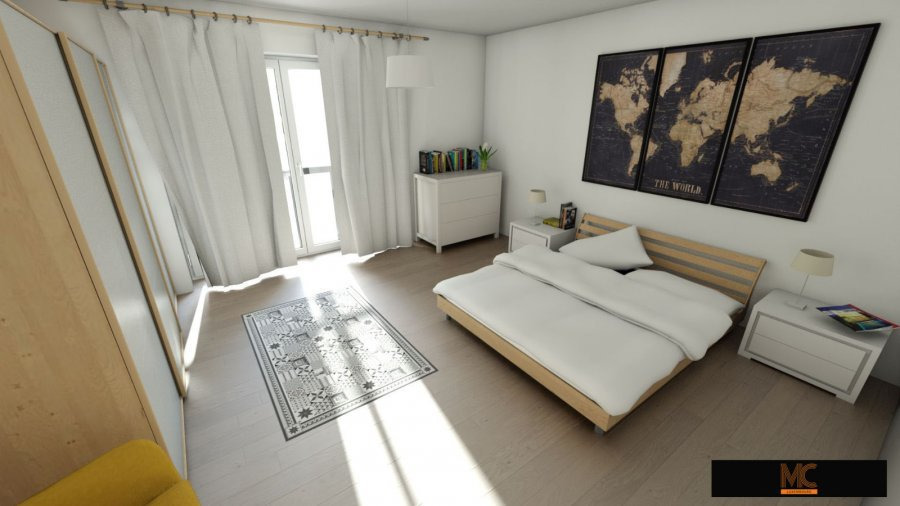 acheter appartement 3 chambres 99 m² echternach photo 3