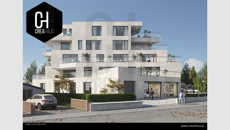 Apartment block for sale in Mamer - Ref. 6675009