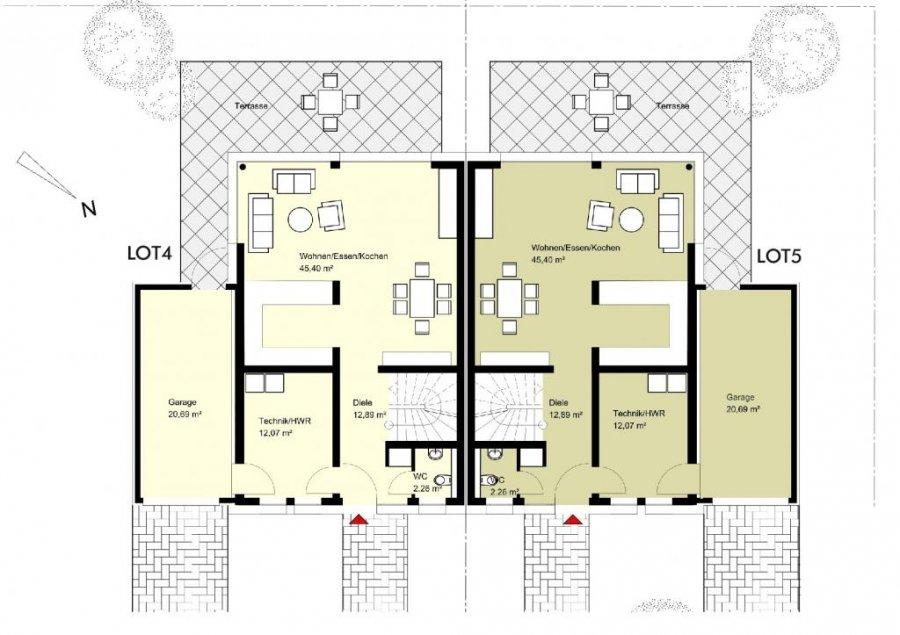 Reihenhaus Kaufen 3 Schlafzimmer 133 M² Feulen Foto 3