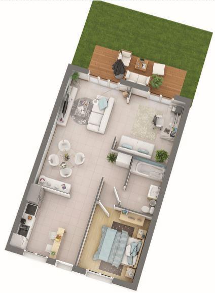 haus kaufen 3 zimmer 66 m² courcelles-sur-nied foto 1