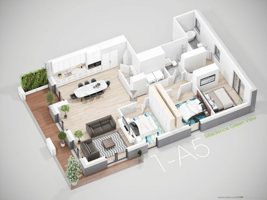 apartment block for buy 0 bedroom 113.53 to 146.86 m² bridel photo 5