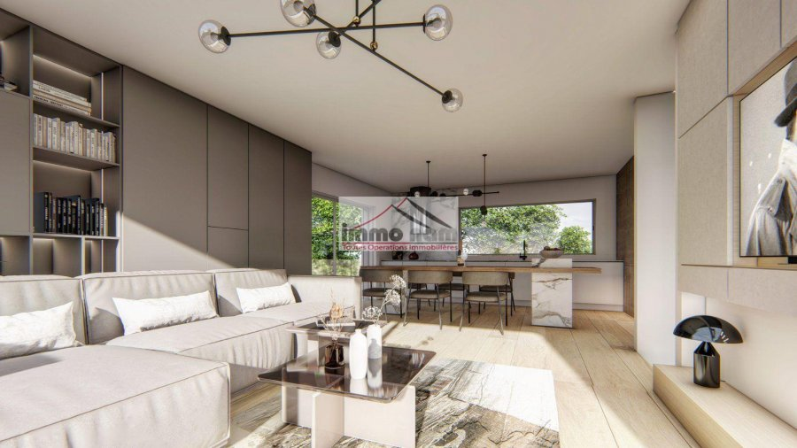 acheter appartement 1 chambre 54.45 m² pontpierre photo 6