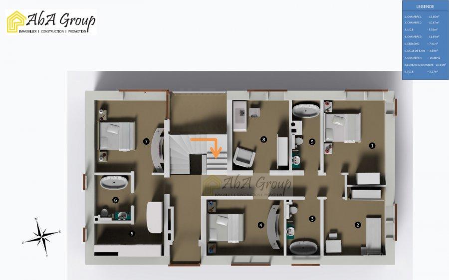 Maison individuelle à vendre 7 chambres à Ehlange