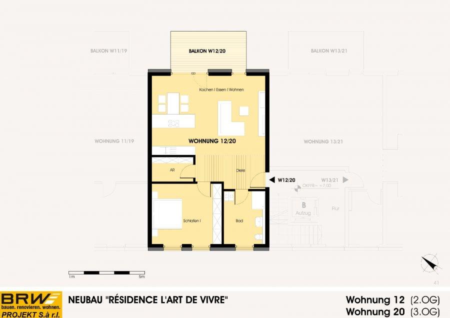 acheter penthouse 1 chambre 84.47 m² echternach photo 2