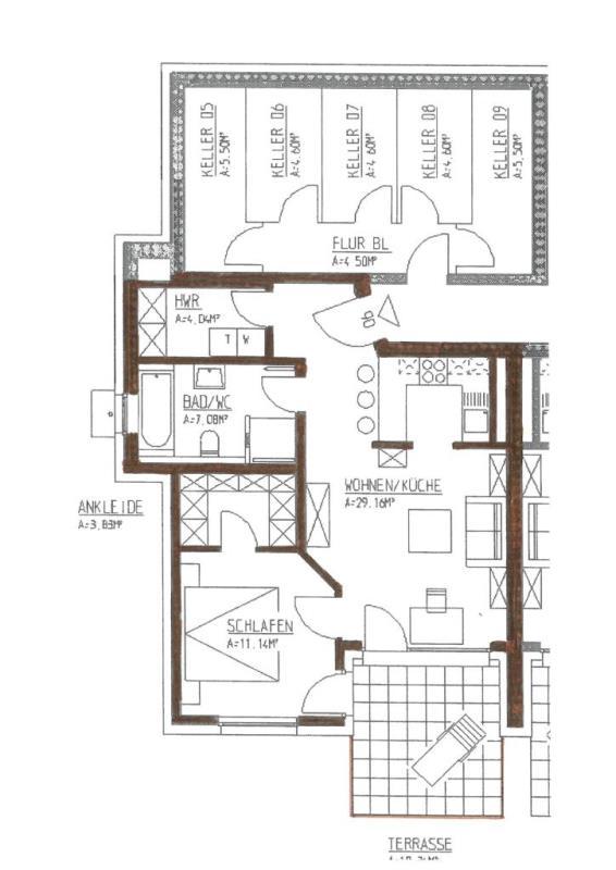 wohnung kaufen 2 zimmer 60.43 m² trier foto 4