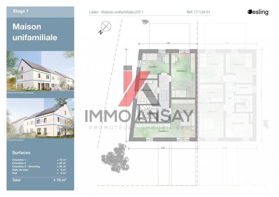 acheter maison 3 chambres 140 m² lieler photo 3