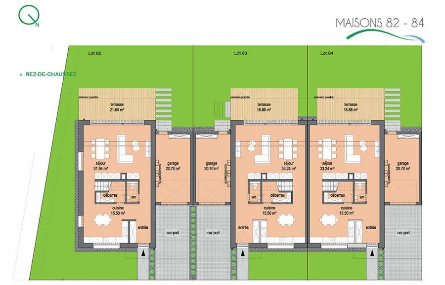acheter lotissement 0 chambre 121.52 à 126.54 m² ettelbruck photo 4