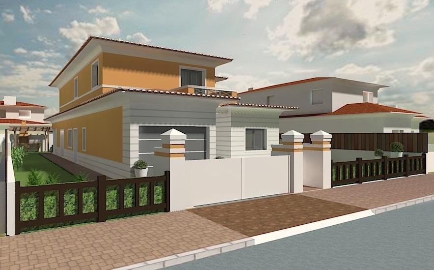 Maison individuelle à vendre 3 chambres à Samora Correia ( Portugal )