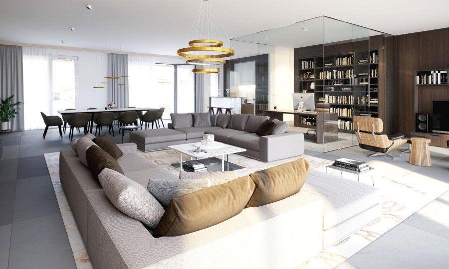 acheter appartement 3 chambres 84.51 m² luxembourg photo 2
