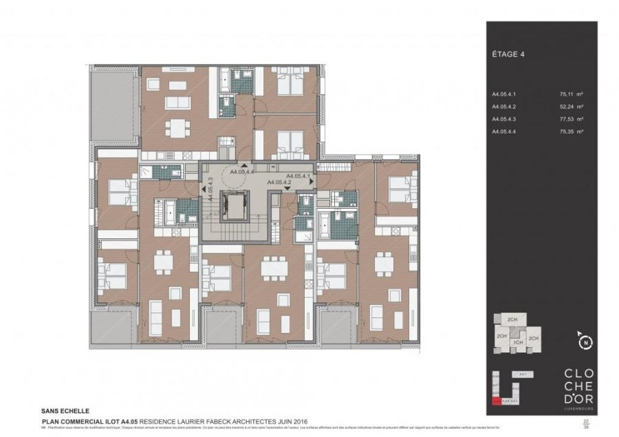 apartment block for buy 0 bedroom 83.82 to 89.58 m² luxembourg photo 7