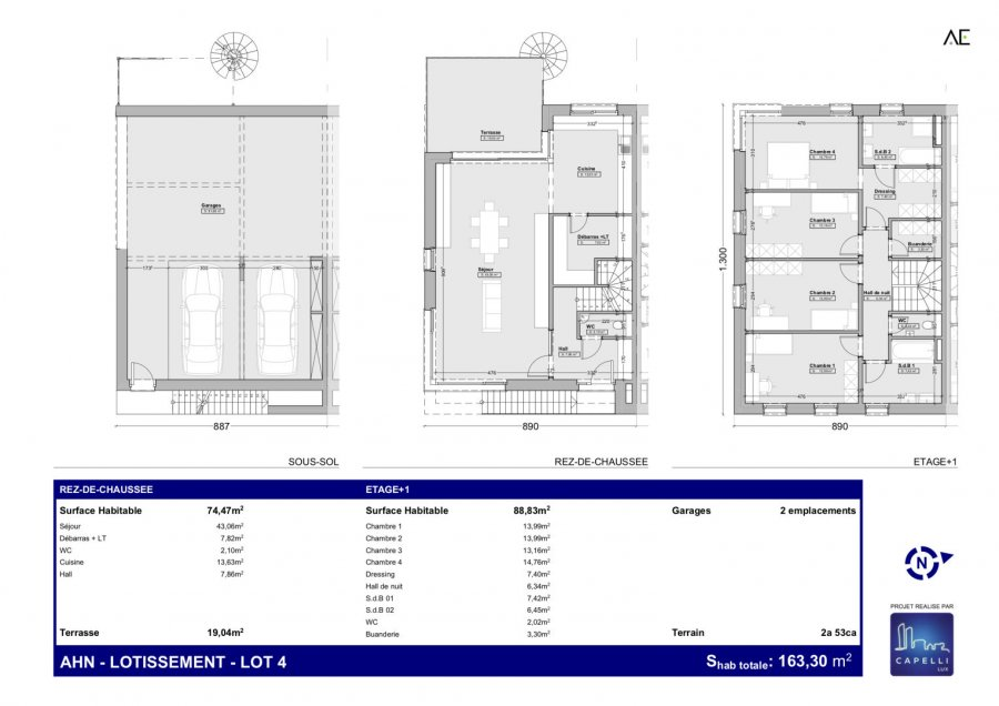 house for buy 4 bedrooms 163.3 m² ahn photo 1