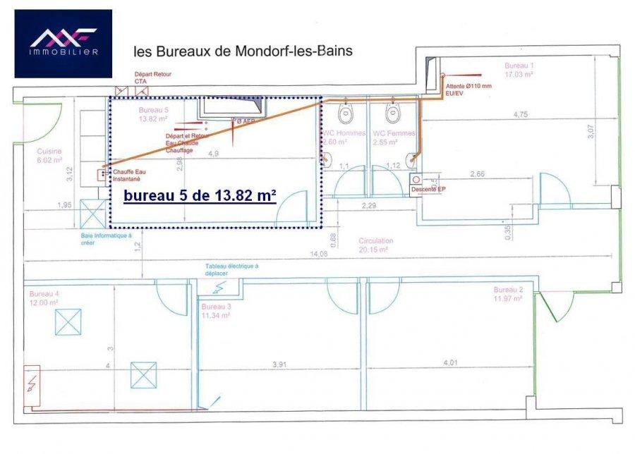 Bureau à louer à Mondorf-les-bains