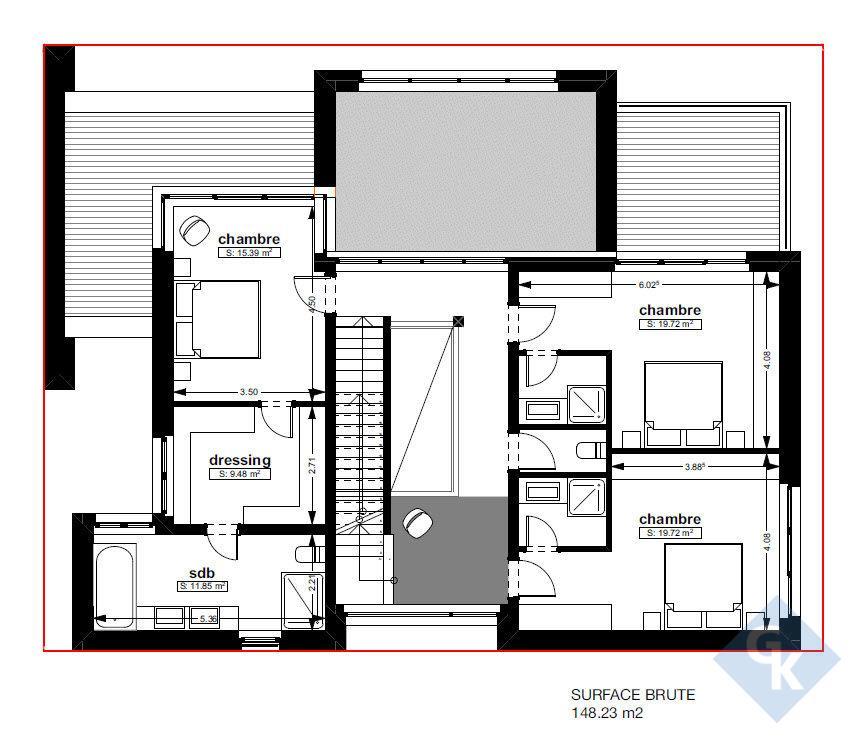 haus kaufen 4 schlafzimmer 240 m² kahler foto 4