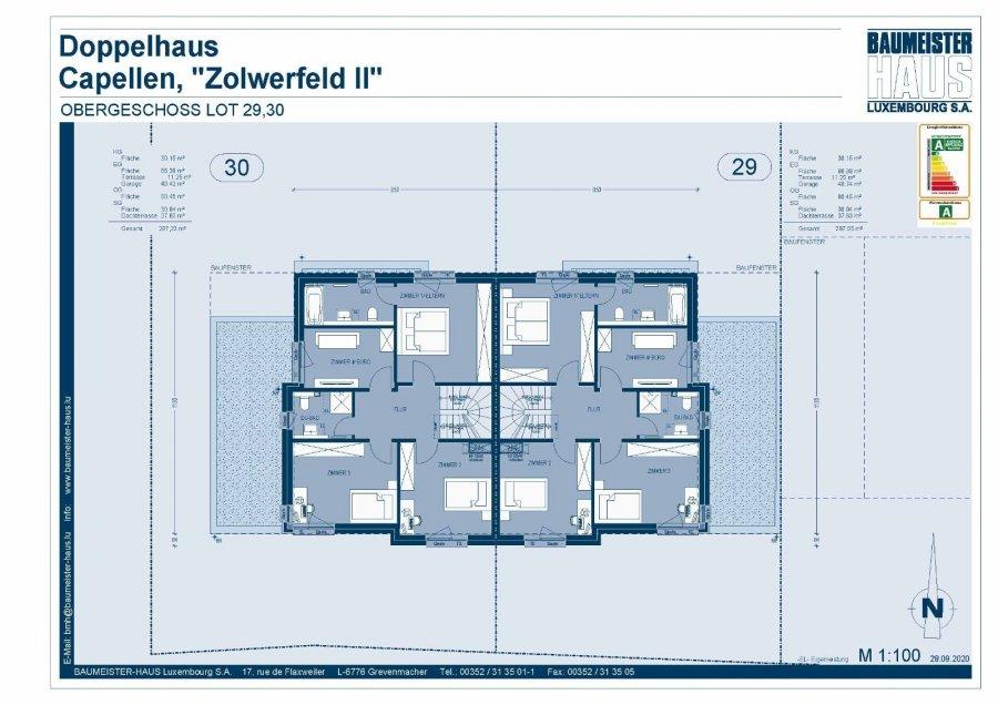 acheter maison jumelée 5 chambres 208 m² capellen photo 5