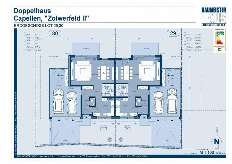 acheter maison jumelée 5 chambres 208 m² capellen photo 6