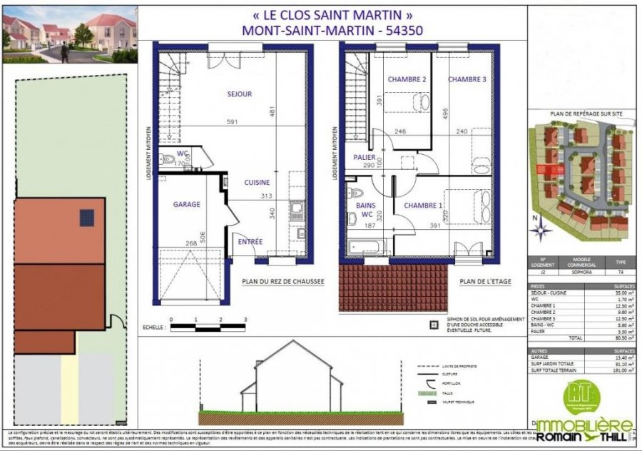 acheter maison jumelée 0 pièce 80.2 m² mont-saint-martin photo 6