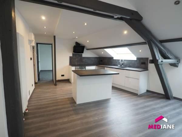 acheter appartement 3 pièces 57 m² thaon-les-vosges photo 1