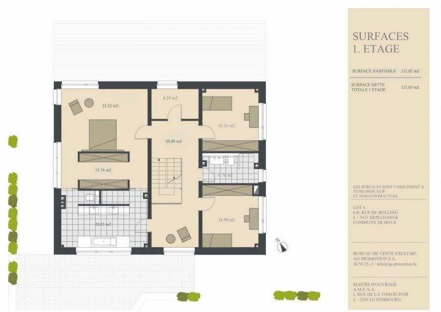 einfamilienhaus kaufen 5 schlafzimmer 311.78 m² erpeldange (bous) foto 4